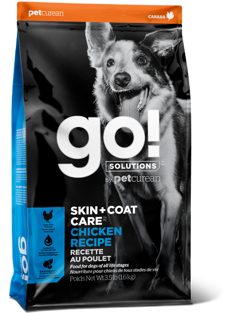 GO! SOLUTIONS SKIN + COAT CARE Chicken Recipe for dogs